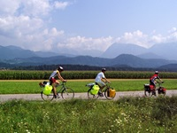 cycling in the country