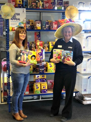 Access Easter Egg appeal - stone with donations