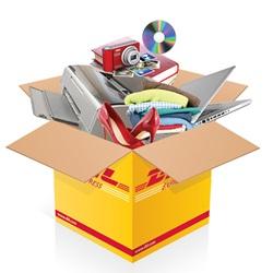 Things in DHL box