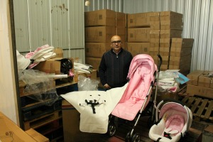 Babyco in storage unit
