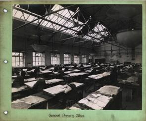 Inside old warehouse