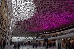 ceiling design in Kings Cross