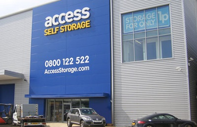 Access Self Storage store in Bristol