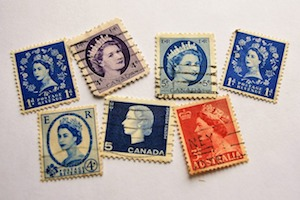 old Commonwealth stamps