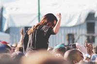 dancing at festival