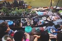 Luang Prabang floating market
