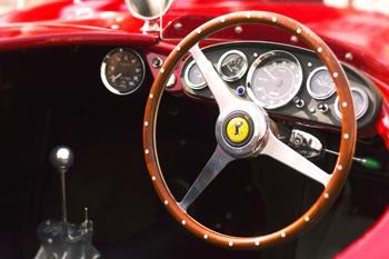 Classic Ferraris dashboard