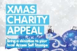 Xmas charity appeal banner