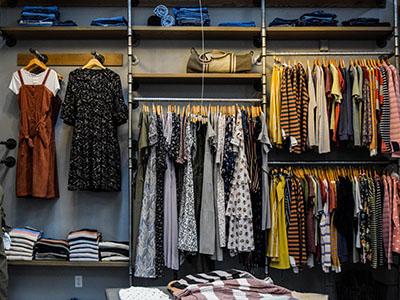 assorted-colour clothes