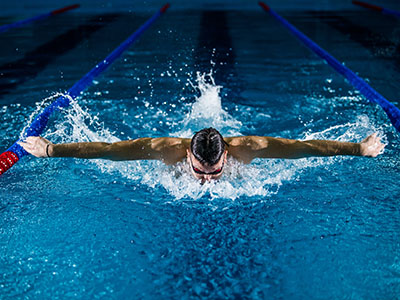 Swimming - one of the best sports to keep fit