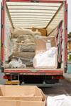 back of removals van