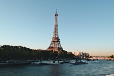 Best winter holiday destinations Paris Eiffel Tower