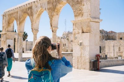 Cheap student travel photography holiday