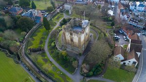 Places to visit in Guildford - the castle