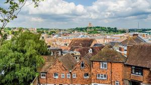 Places to visit in Guildford rooftops