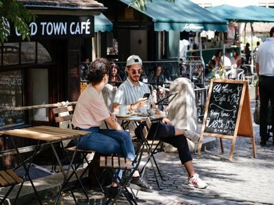 A top outdoor restaurant in Birmingham