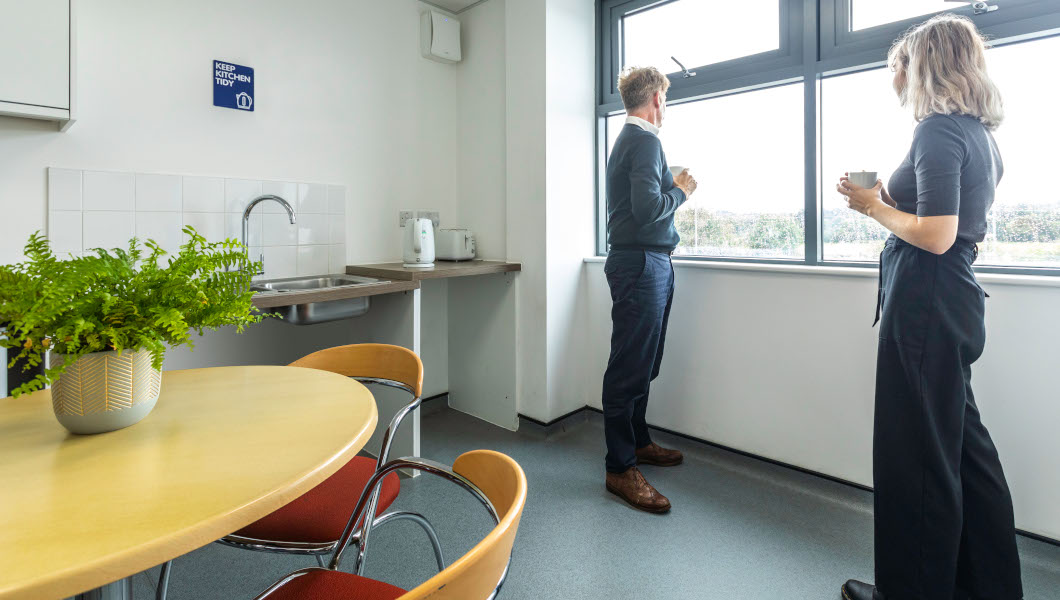 Access Offices in Reading kitchen