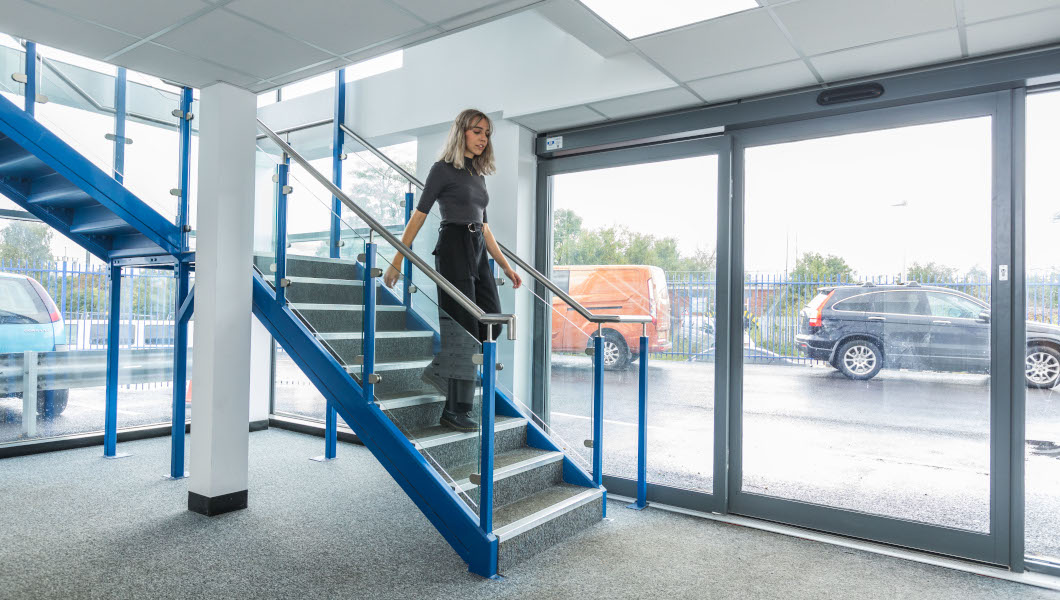 Access Offices in Reading stairs