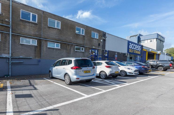 Access Offices Basingstoke - car park