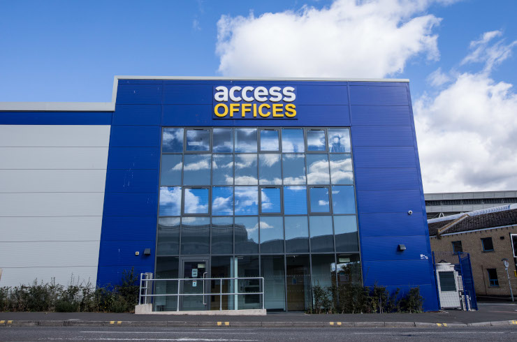 Access Offices Bristol - building