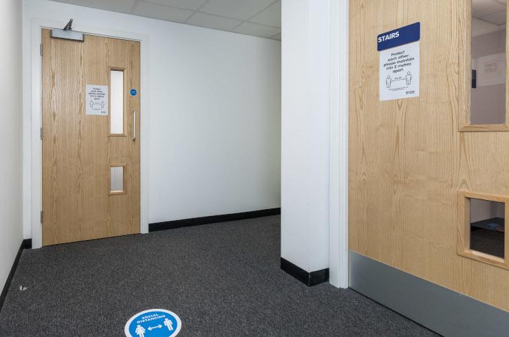 Access Offices Bristol - corridor