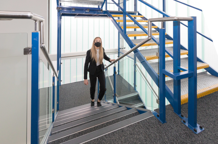 Access Offices Catford - stairs