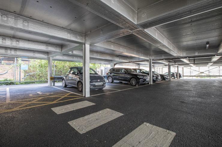 Access Offices Charlton - car park