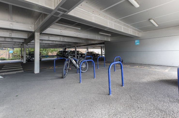 Access Offices Charlton - cycle bay