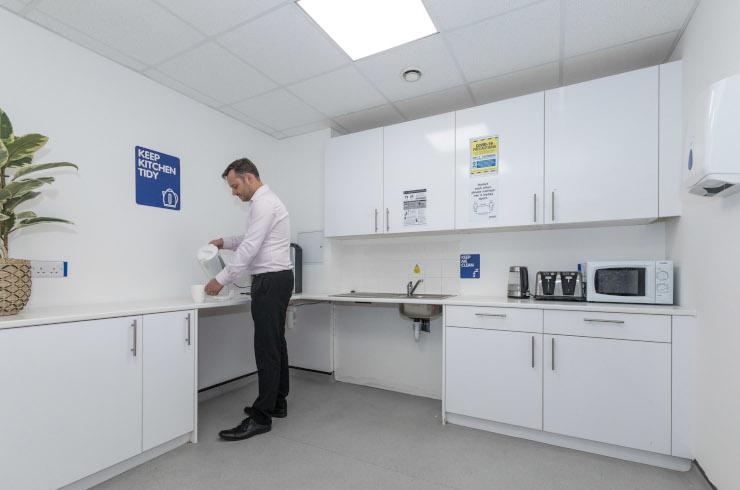 Access Offices Charlton - kitchen