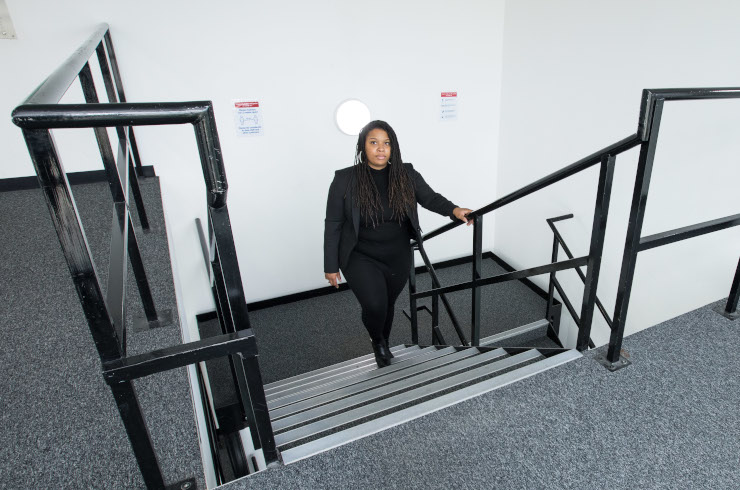 Access Offices - Clapham Acre Lane stairs
