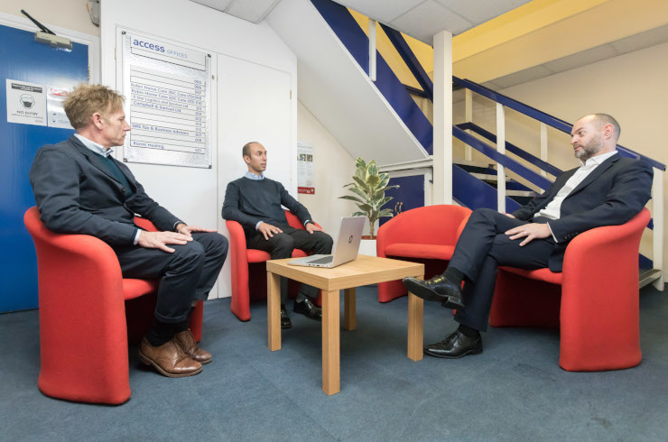 Access Offices Ealing - breakout area