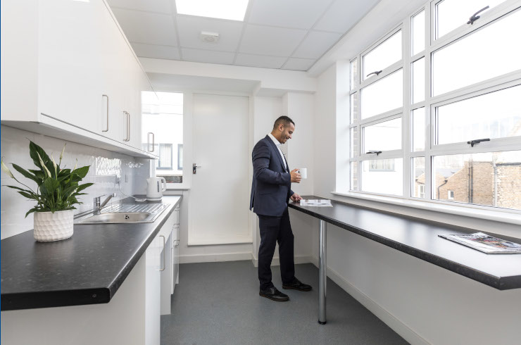 Access Offices Fulham - kitchen