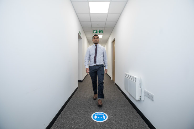 Access Offices Guildford - corridor