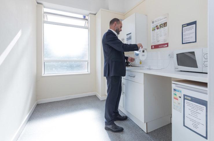 Access Offices - Mitcham kitchen
