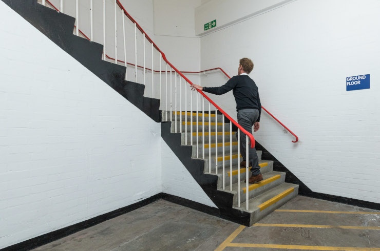 Access Offices - Mitcham stairs