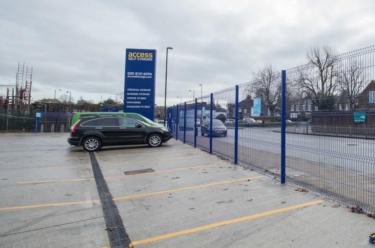 Access Offices Sydenham - car park