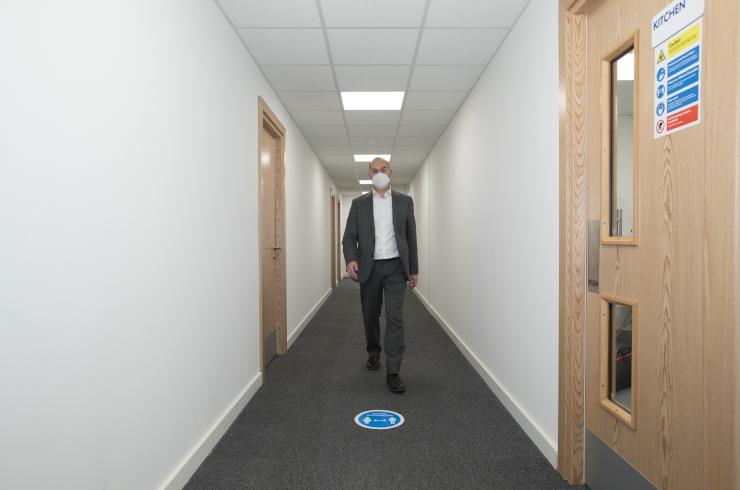 Access Offices Sydenham - corridor
