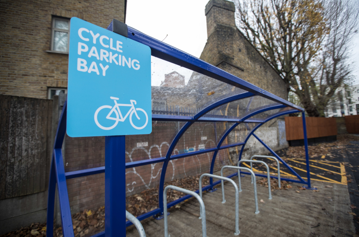 Access Offices Sydenham - cycle bay