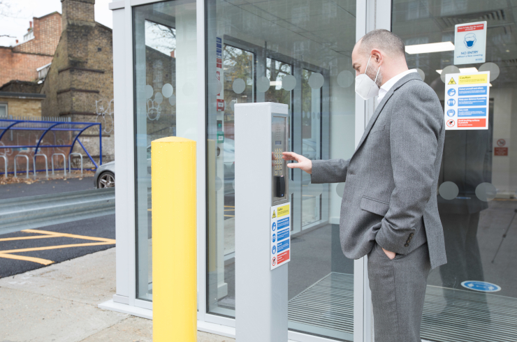 Access Offices Sydenham - entrance