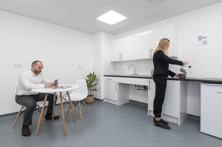 Access Offices Sydenham - kitchen