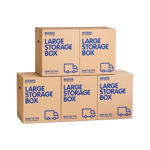 Large cardboard box - 5 pack