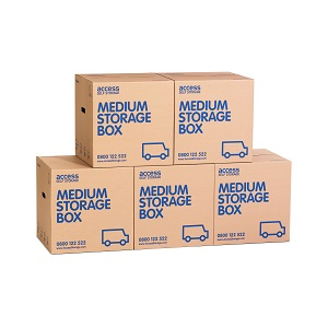 Medium cardboard box - 5 pack