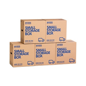 Small cardboard box - 5 pack