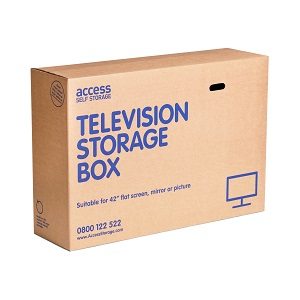 Cardboard Boxes Television Box