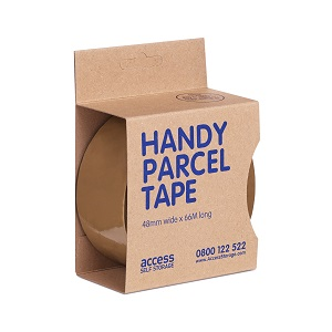 Parcel tape boxed