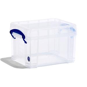 Transparent plastic box - 3 litres