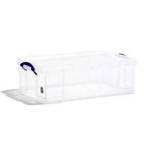 Transparent plastic box - 50 litres