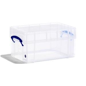 Transparent plastic box - 9 litres