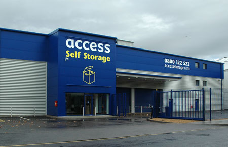 Our Access Self Storage angel facility