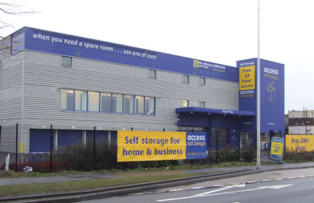 Our Access Self Storage Brentwood facility